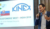 KINEX customers' meet in India